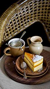 Hintergrundbilder Getränke Törtchen Tasse Kanne Löffel Teller Lebensmittel