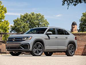 Pictures Volkswagen Crossover Gray Metallic Atlas Cross Sport SE R-Line, 2020 auto