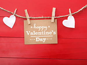 Wallpaper Valentine's Day Red background English Heart Peg