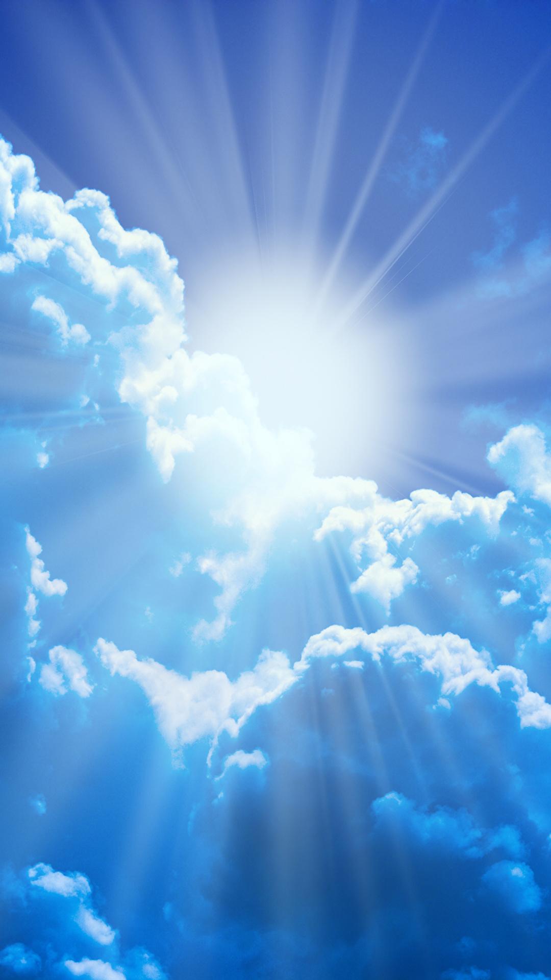 Bilder Lichtstrahl Natur Sonne Himmel Wolke 1080x1920