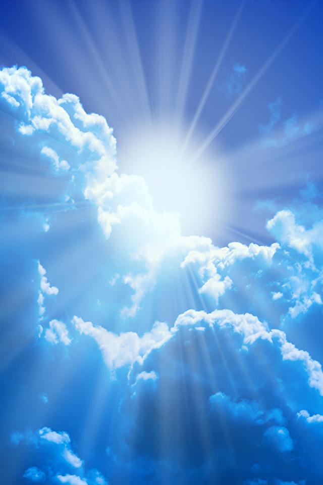 Bilder Lichtstrahl Natur Sonne Himmel Wolke 640x960