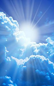 Fondos de Pantalla Cielo Nube Sol Rayos de luz