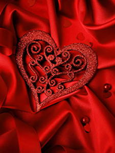 Bilder Valentinstag Herz Design Rot