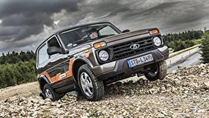 Fotos Lada Russische Autos Metallisch  Autos