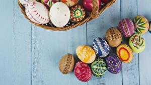 Fotos Ostern Bretter Ei Design