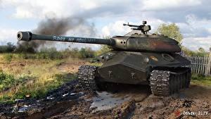 Hintergrundbilder World of Tanks Panzer Russische Object 252U Spiele