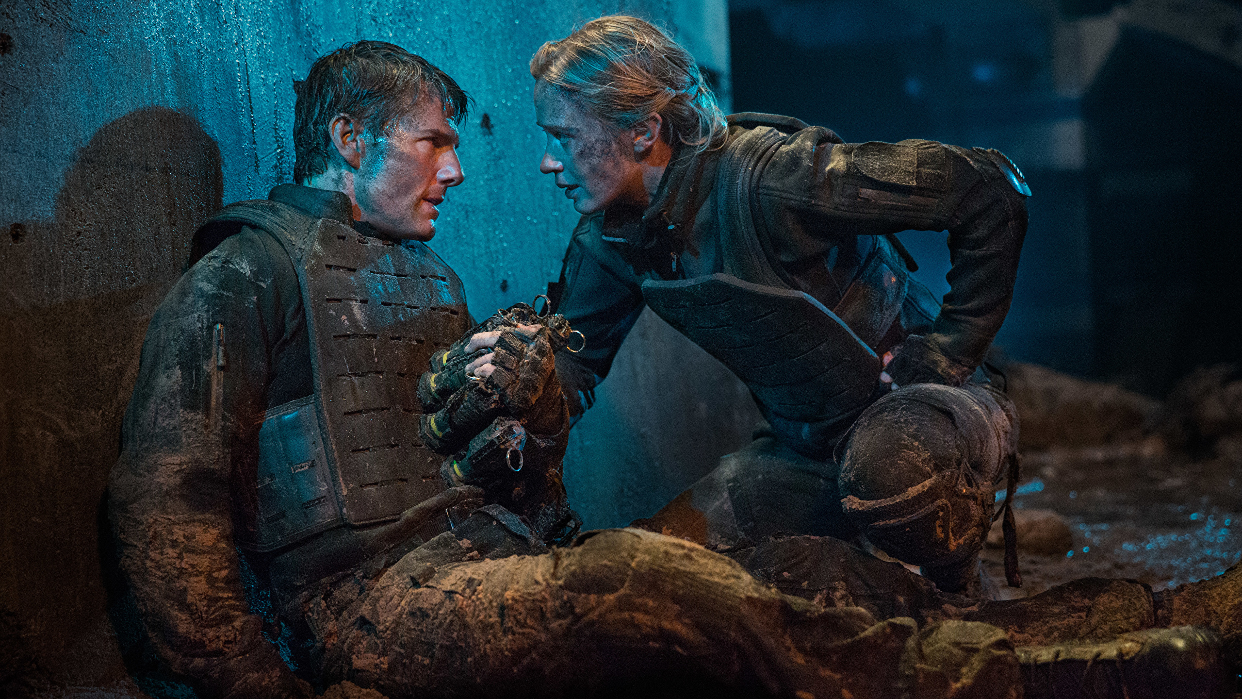 Pictures Edge Of Tomorrow Tom Cruise Emily Blunt Warrior 2560x1440