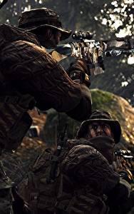 Hintergrundbilder Battlefield 4 Scharfschützengewehr US Hinten Scharfschütze Spiele 3D-Grafik