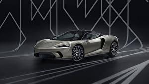 Hintergrundbilder McLaren Grau 2020 GT by MSO auto