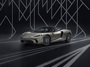 Desktop wallpapers McLaren Grey 2020 GT by MSO automobile