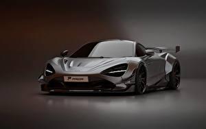 Bilder McLaren Graue Metallisch Prior Design, 2020, 720S, widebody kit auto