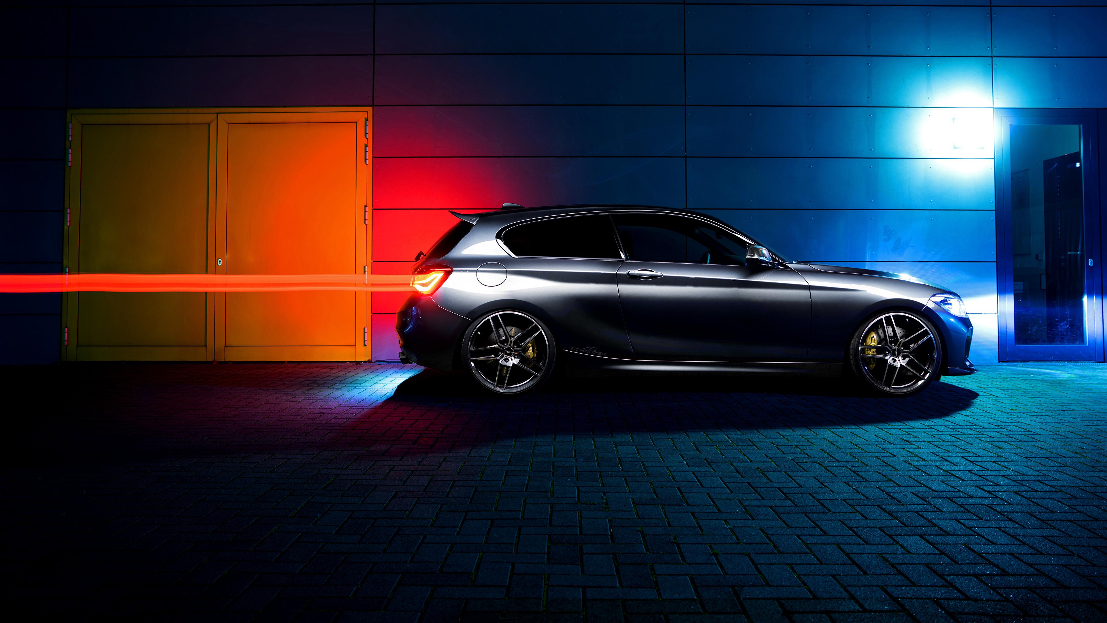 壁紙 3840x2160 Bmw Ac Schnitzer F 1 Series 側面図 自動車 ダウンロード 写真