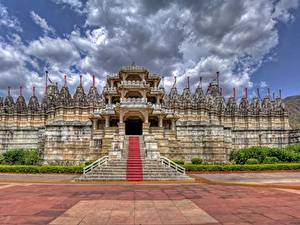 Wallpapers India Temples Rajasthan, Ranakpur Cities