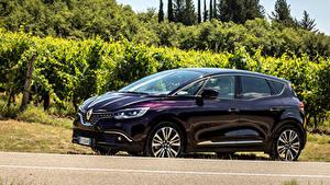 Hintergrundbilder Renault Violett Metallisch 2017-18 Scenic Initiale Paris Worldwide Autos