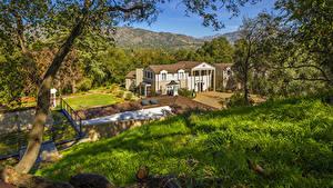 Bilder Vereinigte Staaten Gebäude Kalifornien Herrenhaus Boddy House Städte