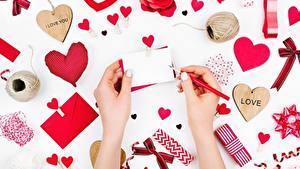 Fotos Valentinstag Herz Hand