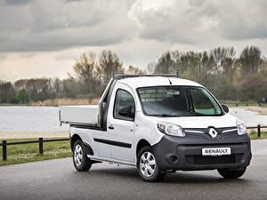 Bilder Renault Pick-up Weiß 2019 Kangoo Z.E. Pick-up Autos