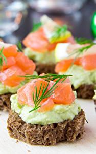 Hintergrundbilder Fast food Butterbrot Brot Fische - Lebensmittel