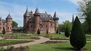 Fotos Niederlande Burg Rasen De Haar Castle Städte