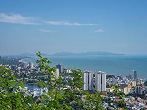 Bilder Vietnam Gebäude Küste Vung Tau Städte