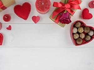 Bilder Bonbon Kerzen Rose Herz Schleife