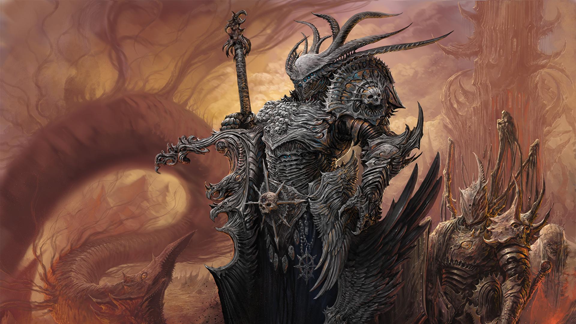Fondos De Pantalla 1920x1080 Warhammer Mark Of Chaos