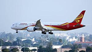 Bilder Boeing Flugzeuge Verkehrsflugzeug Flug B 787 Luftfahrt