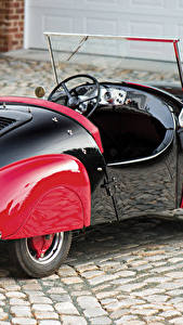 Bilder Antik Metallisch Hinten 1950-52 Atlas Babycar Autos