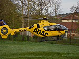 Fotos Hubschrauber Gelb Christoph 28 Luftfahrt