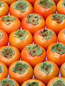Hintergrundbilder Textur Kaki Großansicht Lebensmittel