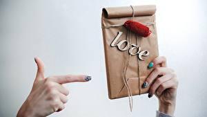 Hintergrundbilder Valentinstag Hand Geschenke