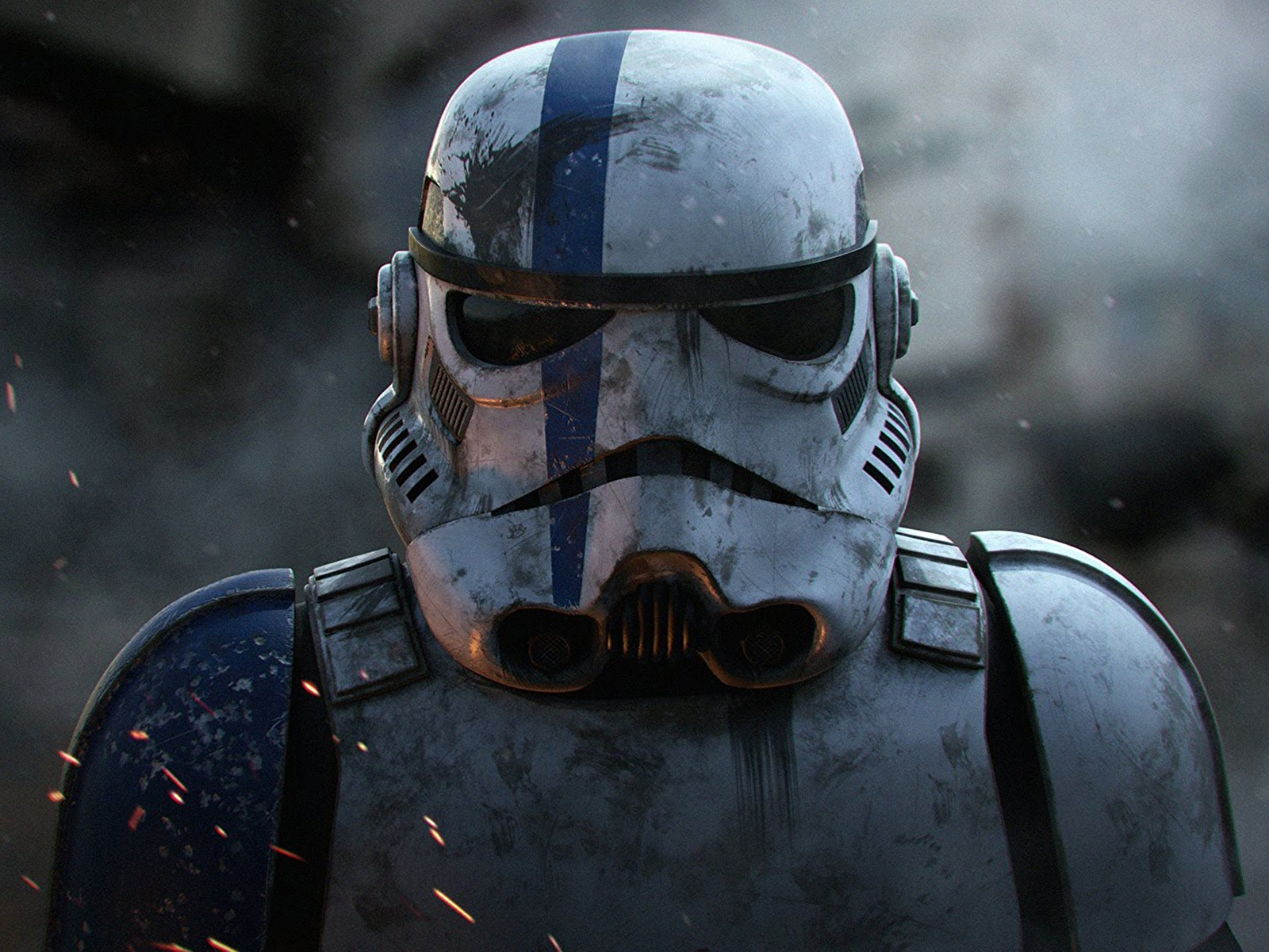 Desktop Wallpapers Star Wars Movies Clone Trooper Helmet 1600x1200