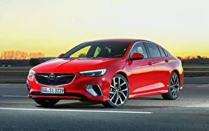 Bilder Opel Rot Metallisch 2017-18 Insignia GSi Autos