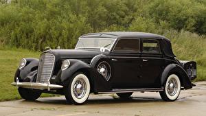 Fotos Lincoln Retro Schwarz Metallisch 1938 Model K Semi-Collapsible Cabriolet by Brunn Autos