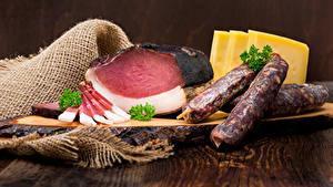 Hintergrundbilder Fleischwaren Schinken Wurst Käse