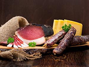 Hintergrundbilder Fleischwaren Schinken Wurst Käse Lebensmittel