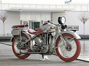 Fotos Opel Antik 1928-30 Motoclub SS Motorräder