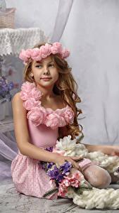 Bilder Kleine Mädchen Model Blick Kinder