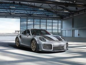 Fotos Porsche Graue 911 gt2 auto