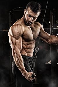Hintergrundbilder Fitness Mann Bodybuilding Körperliche Aktivität Hand Bauch Muskeln Sport