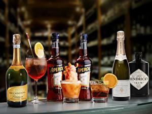 Hintergrundbilder Cocktail Schaumwein Wein Flasche Weinglas Trinkglas GIN aperol casa valduga riccadonna
