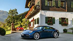 Bilder Porsche Blau Metallisch 1964-2019 911 Autos