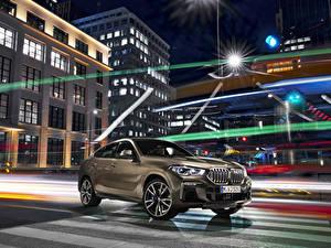 Fotos BMW Braunes Crossover 2019 X6 M50i Worldwide Autos
