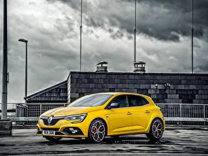 Hintergrundbilder Renault Gelb  Autos