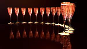 Hintergrundbilder Schaumwein Weinglas Spiegelung Spiegelbild Lebensmittel