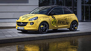 Bilder Opel Fahrzeugtuning Gelb 2014-15 Adam  1909 powered by Marco Reus Autos