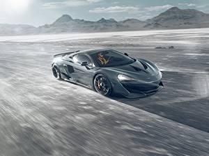 Hintergrundbilder McLaren Bewegung Graue Novitec 600LT Autos
