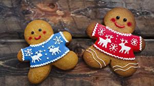 Hintergrundbilder Neujahr Kekse Bretter 2 Design das Essen