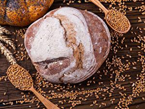 Bilder Backware Brot Weizen Ähre Getreide Löffel