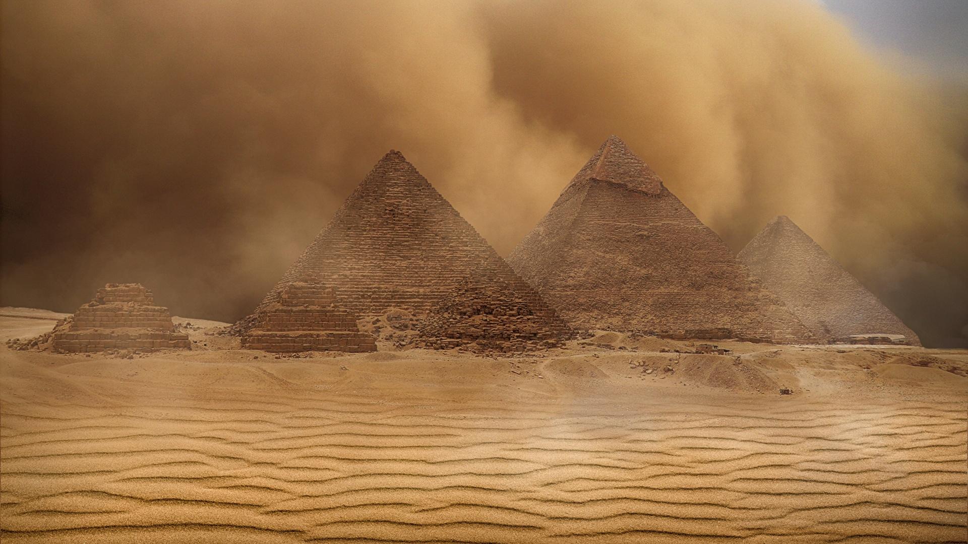 Fonds D Ecran 1920x1080 Egypte Desert Pyramide Architecture Sable Nature Telecharger Photo